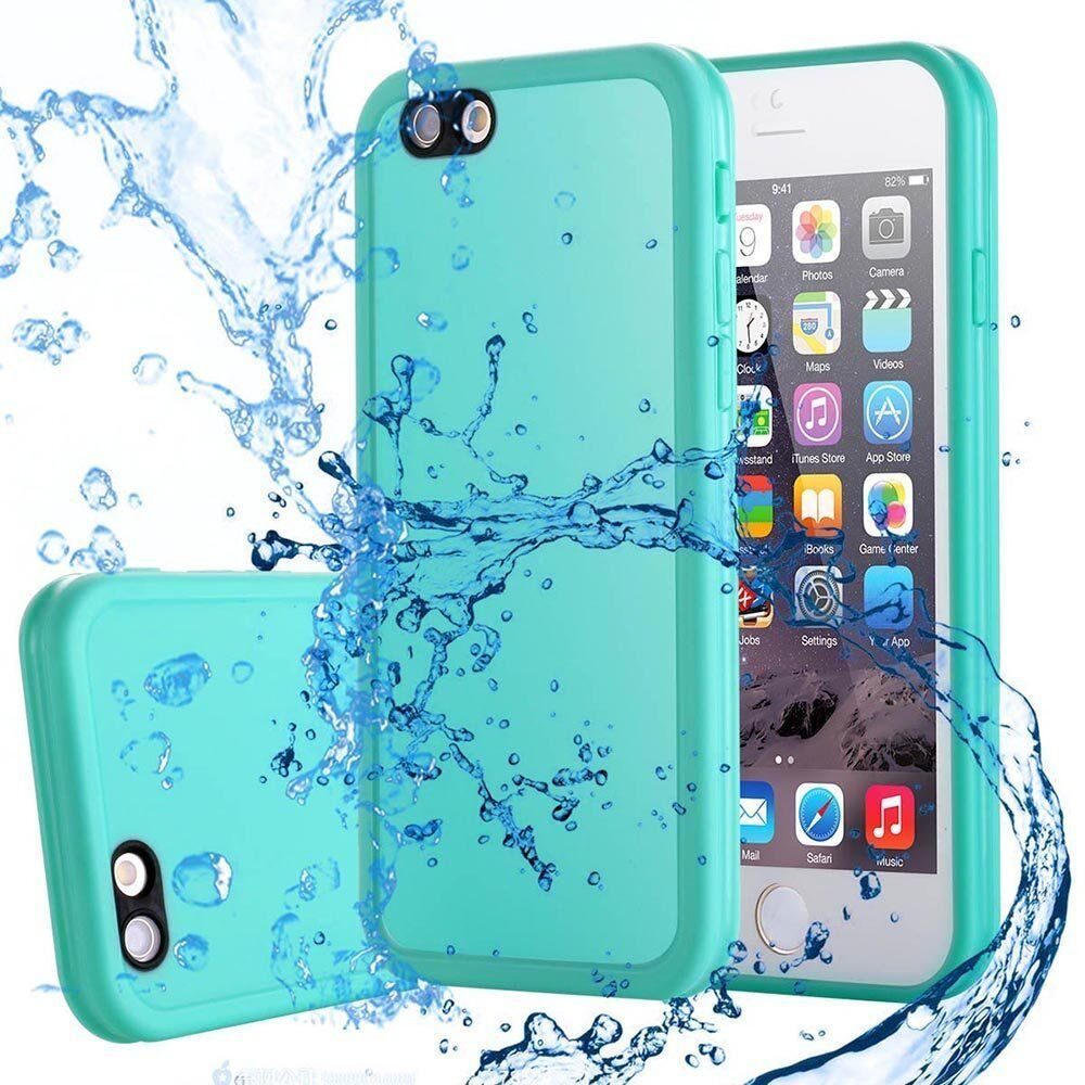 Fr iPhone 6s 6 SE X 7 8 Plus Case Ultra-thin Waterproof Silicone Full-body Cover