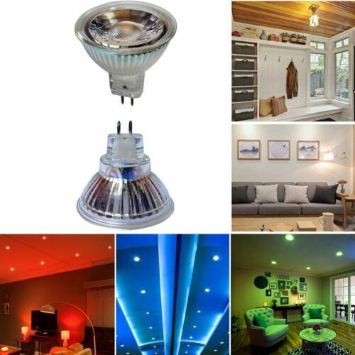 1-100 LED Leuchtmittel Glas Reflektor MR11 2W = 20W GU4 12V warmweiß kaltweiß