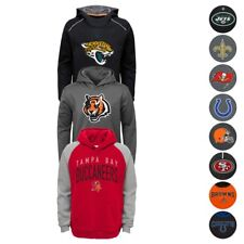NFL Team Logo Performance Pullover Hoodie Collection Youth (SZ:S-XL)