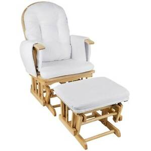 NEW FREE SHIPPING - Baby Breast Feeding Sliding Glider Chair w/ Dunrobin Glenelg Area Preview
