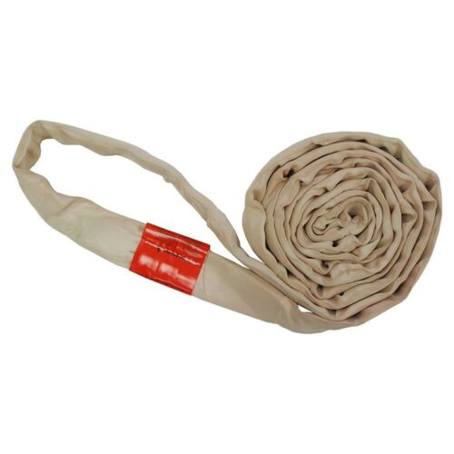 Polyester Lift Sling Endless Round Sling Tan 12000LBS Vertical, 4