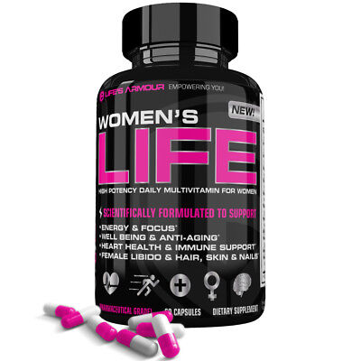 Women S Life Best High Potency Multivitamin Mineral Vitamin Supplement For Women