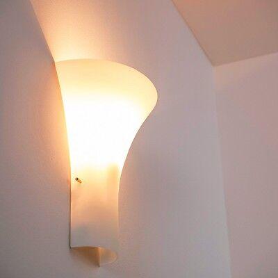 Wandleuchte Design Wandlampe Leuchte Glas Wandstrahler Flurlampe mit Schalter