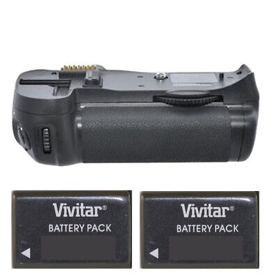 Vivitar MB-D14 Power Battery Grip for Nikon D600 D610 + 2 ENEL15A Batteries New! for sale  Shipping to India