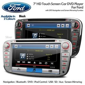 Ford Focus Mondeo S Max Galaxy Transit Connect Radio Screen Bluetooth GPS Car DVD USB SD Headunit