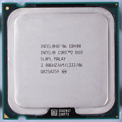 Intel Core 2 Duo E8400 3GHz Dual-Core (EU80570PJ0806M) Processor for sale  Brodhead