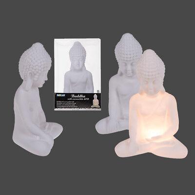 Buddha LED Lampe Thaibuddha mit warm weiß LEDs Deko Beleuchtung Batterie gebraucht kaufen  Achim
