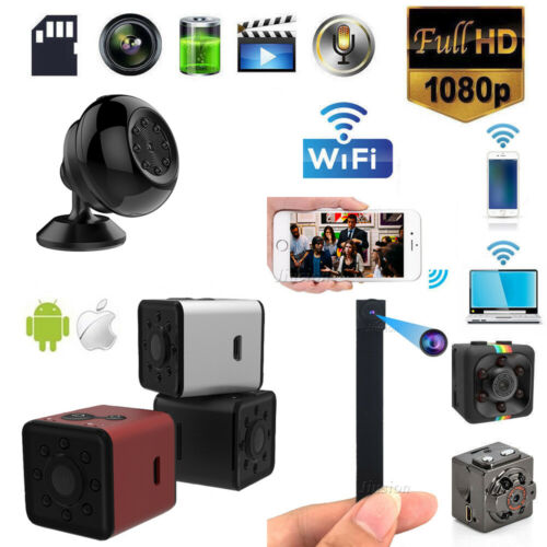 1080P Mini Camera WIFI Spy Wireless IP Hidden HD For Home Su