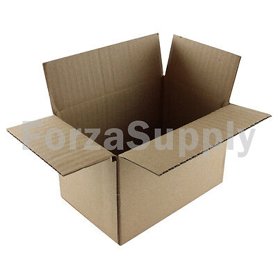 50 6x4x4 Ecoswift Brand Cardboard Box Packing Mailing Shipping Corrugated