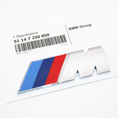 OEM Chrome M Series Emblem Badge Car Rear Trunk Decoration Refit ABS Biggest 850