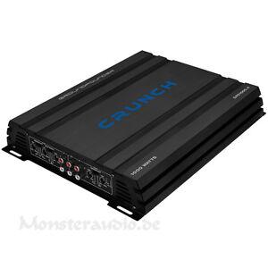 Crunch GPX-1000.4 Car-Hifi Verstärker Endstufe 4-Kanal Auto KFZ Amp 1000 WATT