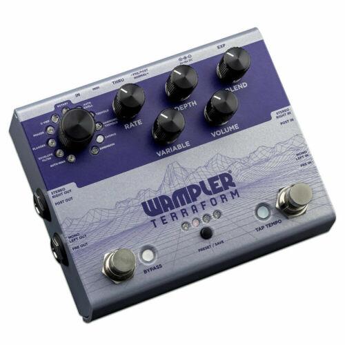 Wampler Terraform Multi-Modulation Guitar Effects Pedal  (OPEN BOX) Terra Form