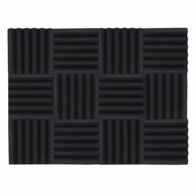 Studio Acoustic Foams Sponge Panels Tiles Absorption Sound Insulation Triangle