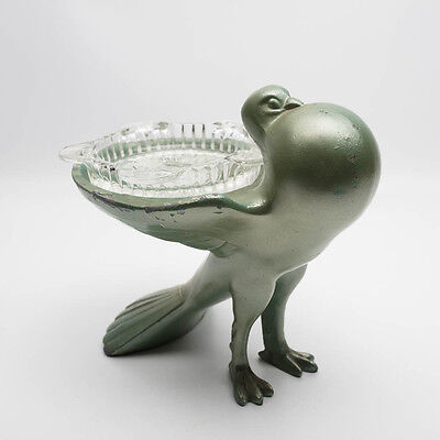 Vintage Art Deco Pigeon Ashtray Paper Clip Tray