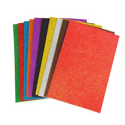 Glitter Foam Sheets (Self-Adhesive Glitter EVA Foam Sheets, 8-Inch x 12-Inch,)