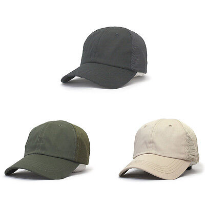 Breathable & Moisture Wicking Mesh Back Tactical Cap