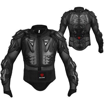 Motorcycle Motorbike Full Body Armor Protector Jacket Back Protection UK W1K8