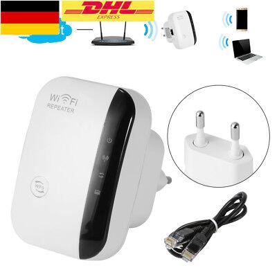 NEU WiFi Range Extender Super Booster 300Mbps Superboost Boost Speed Wireless EU