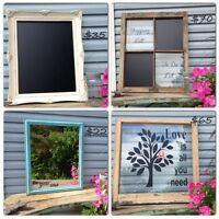 QUOTES ON RUSTIC GLASS FRAMES OR OLD WOODEN WINDOWS