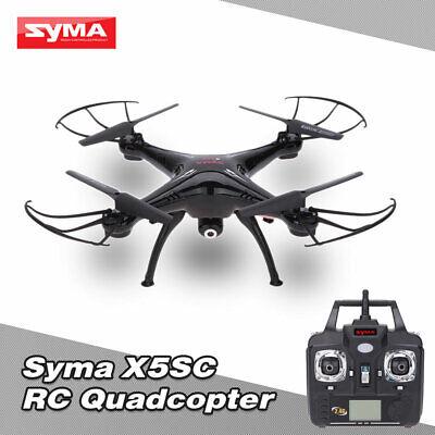 SYMA X5SC 2.4G 4CH 6-Axis Gyro RC Quadcopter RTF Drone W/ HD 2.0MP Camera B9C3