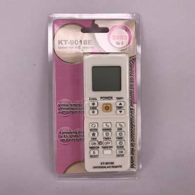 New For KT-9018E Universal LCD AC A/C Air Conditioner Remote Control 5000 in 1
