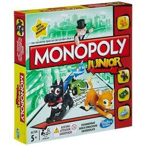 Hasbro A6984100 - Monopoly Junior Klassiker Neuauflage für Kinder, NEU & OVP