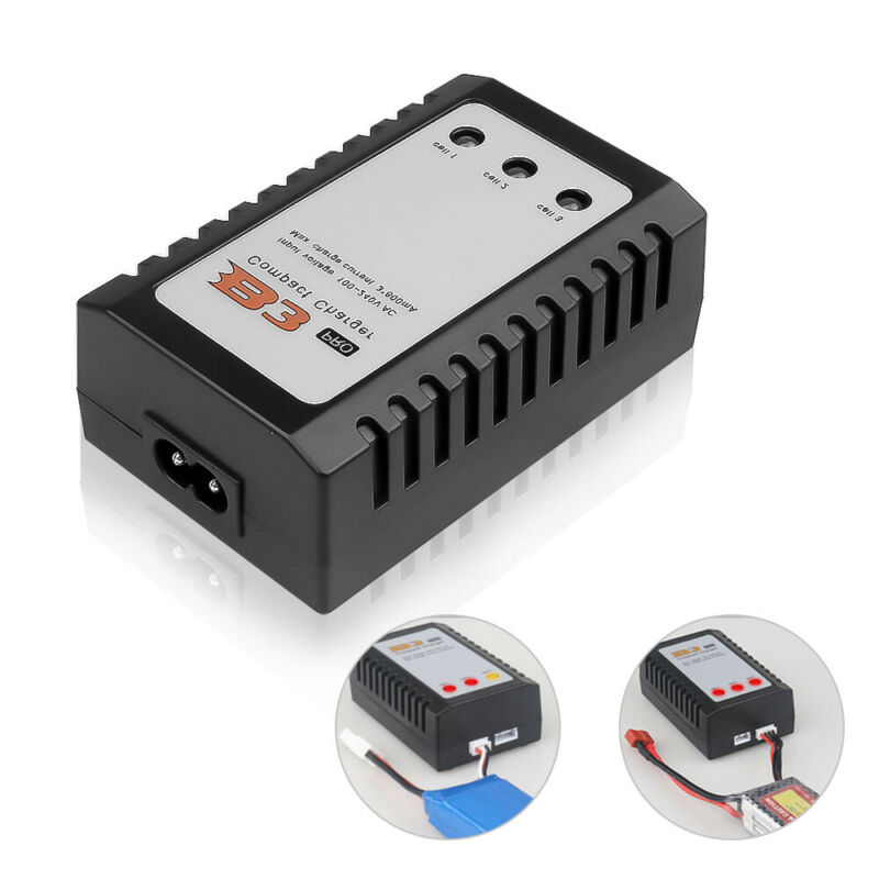B3 LIPO Battery Charger 7.4v 11.1v 2s 3s Cells for RC LiPo f