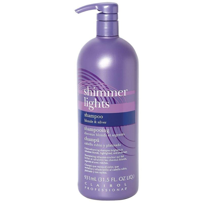 Clairol Shimmer Lights Shampoo, Blonde - Silver 31.5 oz