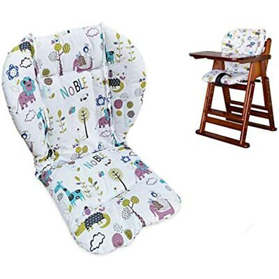 Twoworld High Chair Cushion, Large Thickening Baby Seat Liner Mat Pad Cover