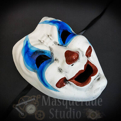Horror Creepy Happy Laughing Comedy Clown Face Costume Halloween Masquerade Mask