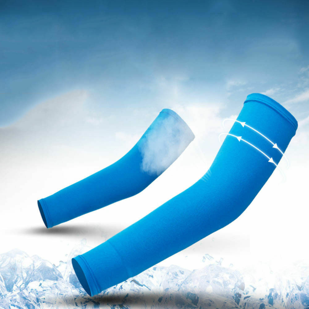 Arm Sleeves UV Protection Sun Sleeves for Men Women Golf Running Cycling Fishing Basketball