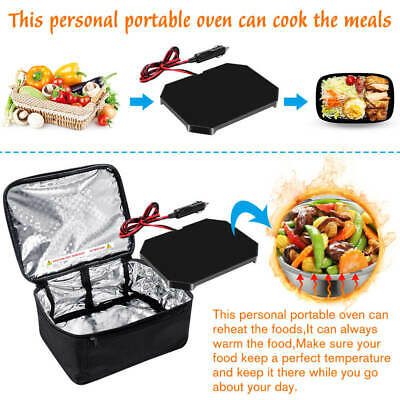 12V car truck food warmer set hot plate logic mini microwave portable electric
