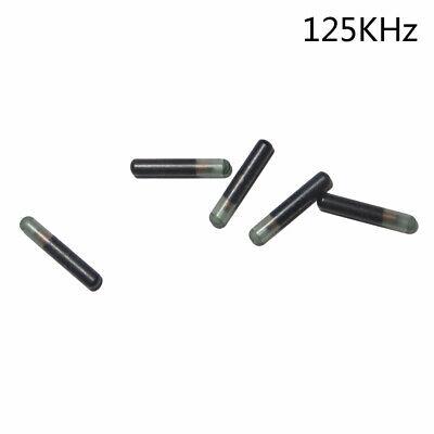 5x Micro Bio Glass Tag 125khz Rfid Em4100 Proximity Implanted Chip 2.12 X12mm