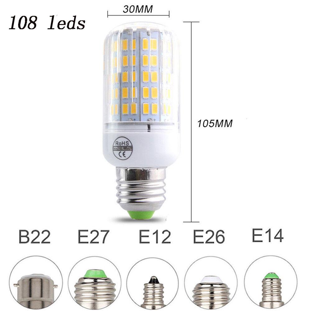 e27 e14 e12 b22 led corn bulb 5730 smd spotlight corn 20w 150w lamp ac110 220v. Black Bedroom Furniture Sets. Home Design Ideas