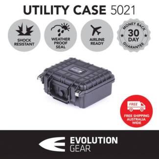Evolution Gear 5021 Hard Case GoPro Camera Safe Travel lockable