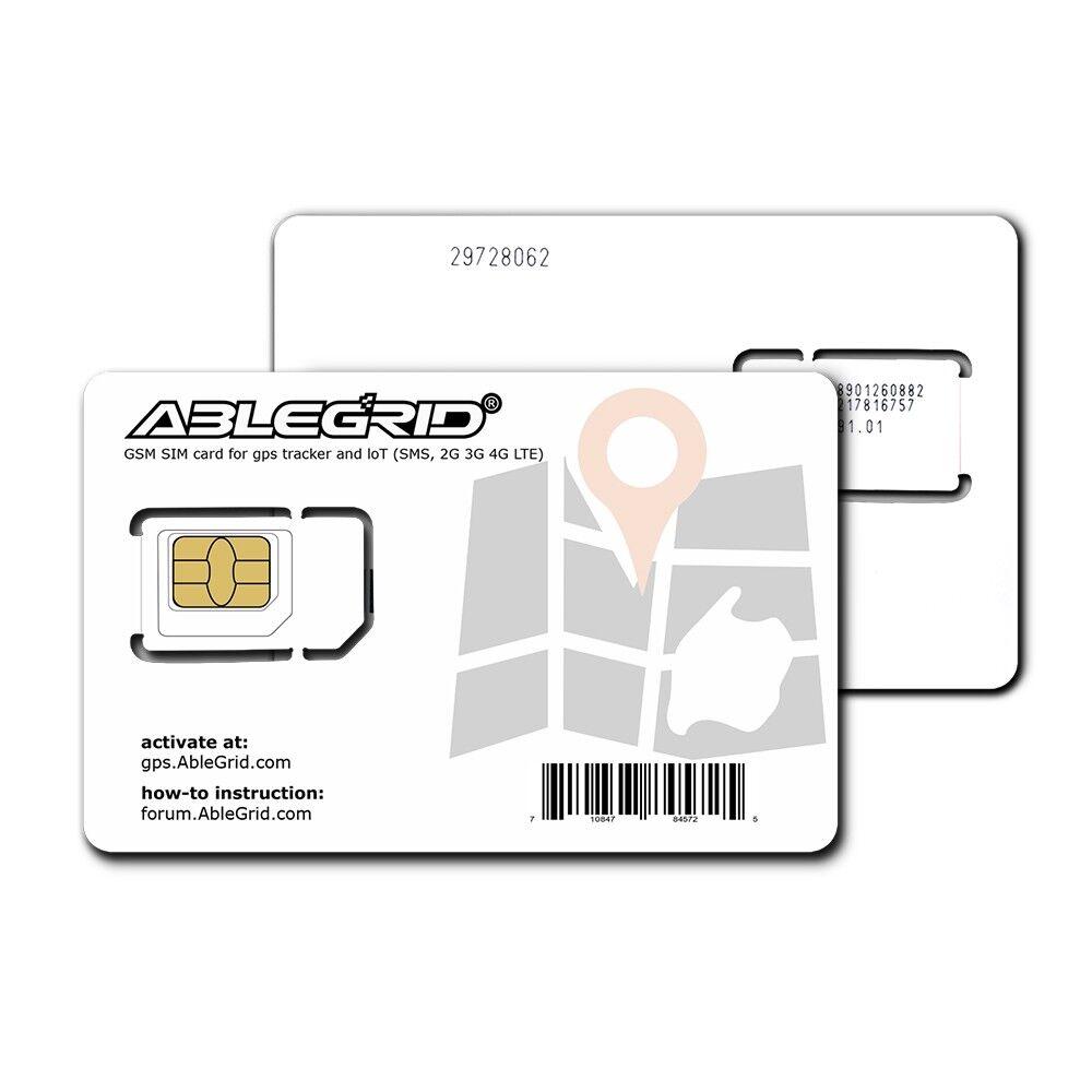 как выглядит SIM-карта для мобильного телефона GSM SIM Cards for GPS Tracker and LoT SMS 2G 3G 4G LTE ( Use T-Mobile Network ) фото