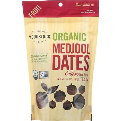 Woodstock Farms-Organic Medjool Dates With Pits (8-12 oz bags) ()