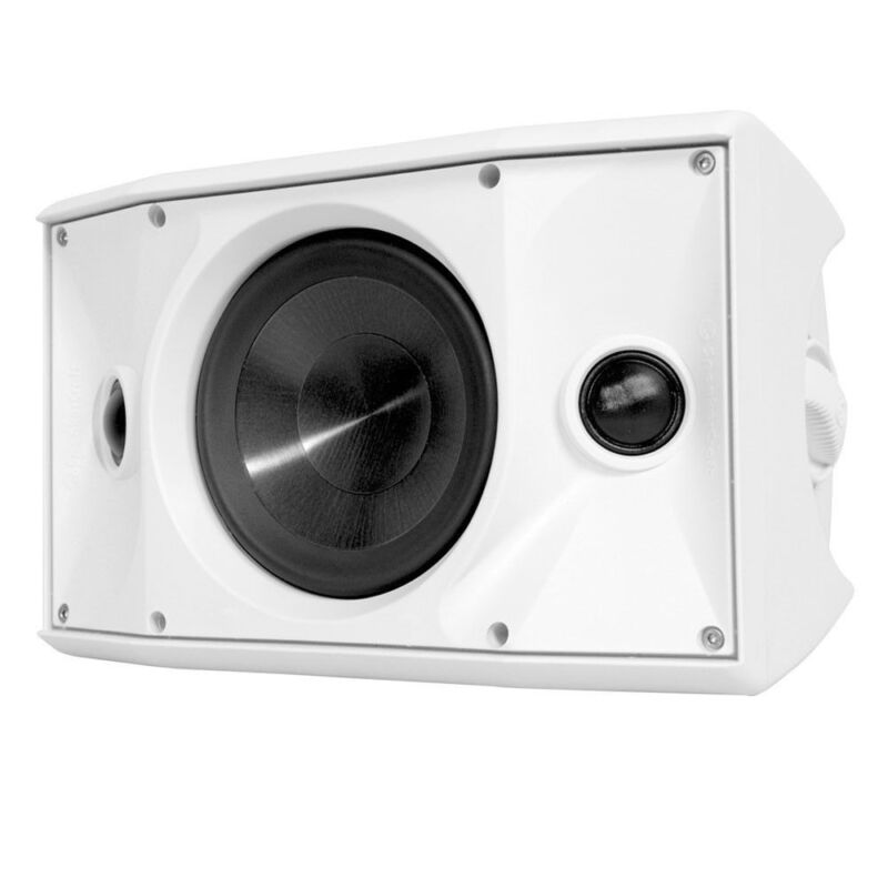 "SpeakerCraft One Series 6-1/2"" 125W On-Wall Outdoor Speaker (Each) White OEDT6ONEWH"
