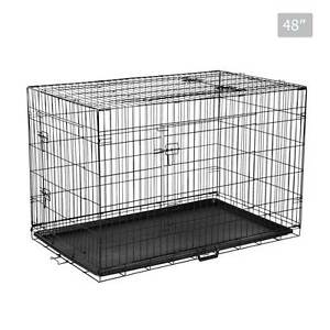 Foldable Pet Crate 48Inch Brisbane City Brisbane North West Preview
