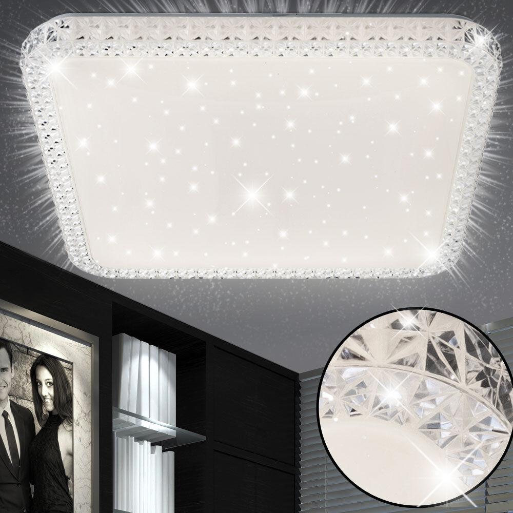 Luxus LED Kristall Decken Lampe Schlaf Zimmer Sternen Himmel Effekt Beleuchtung