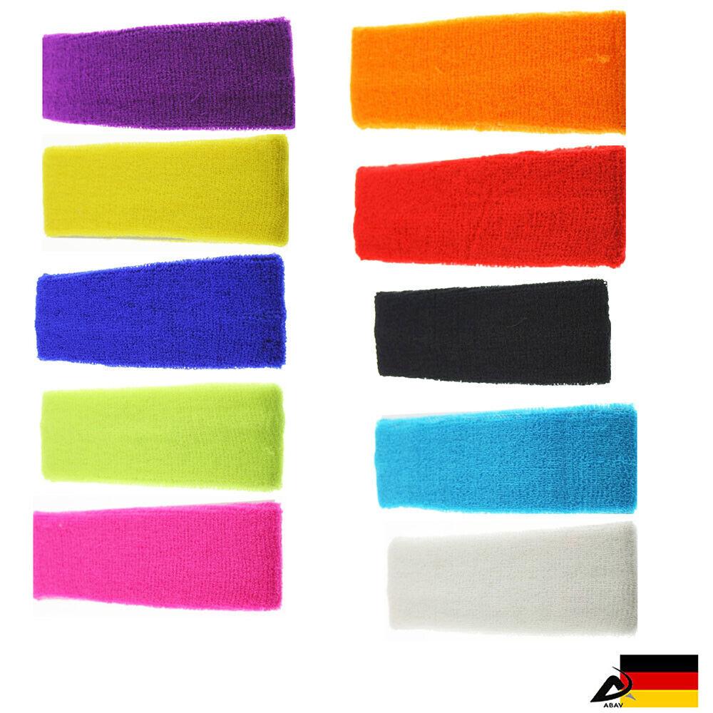 Sport Stirnband Schweißband Tennis Stirnband Kopfband Headband Fitness Yoga Gym