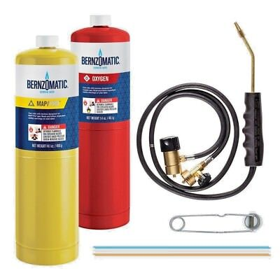 Bernzomatic Cuttingweldingbrazing Kit With Oxygen