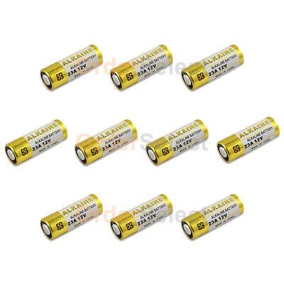 10 PACK NEW Battery VR22 L1028 A23 23A 23AE A23BP MN21 MN23 21/23 US Seller HOT!