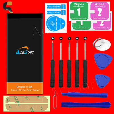 AceSoft 6620mAh Extended Slim Battery for Samsung Galaxy S6 Edge+ Plus w/