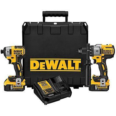DEWALT DCK299P2 20V MAX XR Li Ion Brushless Hammerdrill & Impact Driver Kit NEW