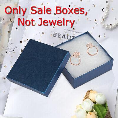 Kinbor 16pcs Box Cardboard Gift For Earrings Jewelry Display Gift Box Royalblue