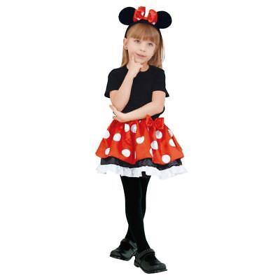 Disney Minnie Tutu Kinder-Kostüm Mädchen Länge 32 cm mit Stirnband aus Japan F S ()