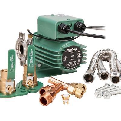 Brand New Tacogenie 0011-cf-usk Circulator Pump With Under Sink Kit 34 18 Hp