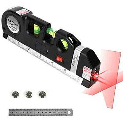 Laser Level Line Tool Multipurpose Kit Standard Cross Level Leveler Beam With -