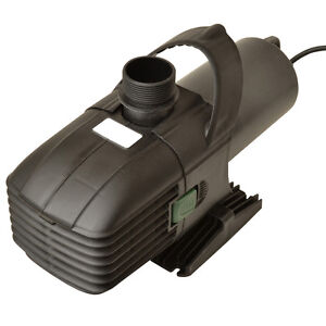 Hailea t5000 filter water pump koi fish pond ebay for Koi pond pump and filter